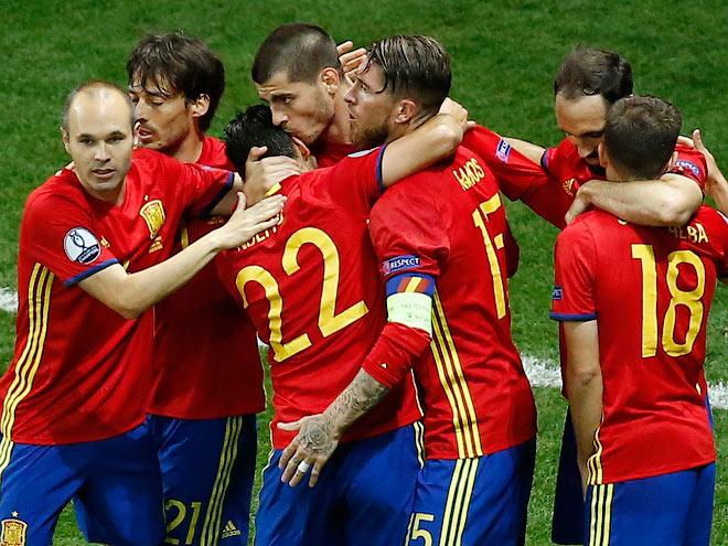 Испания, сборная, Евро-2106, Турция, матч, счет