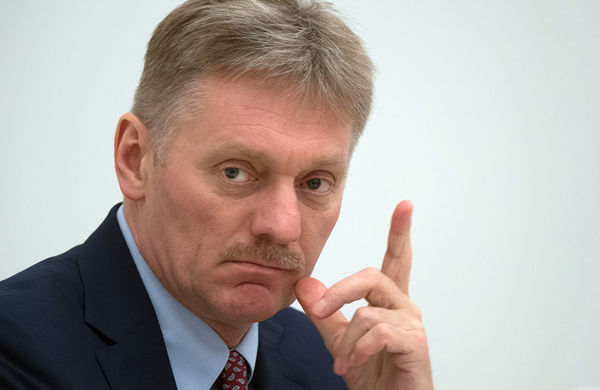 песков, россия, путин, украина, скандал