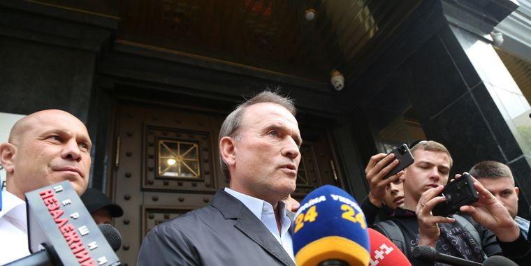 """""""К аресту готов"""", - Медведчук прибыл на допрос в Офис генпрокурора"""