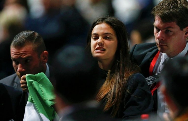 На выборах президента ФИФА прошла акция протеста