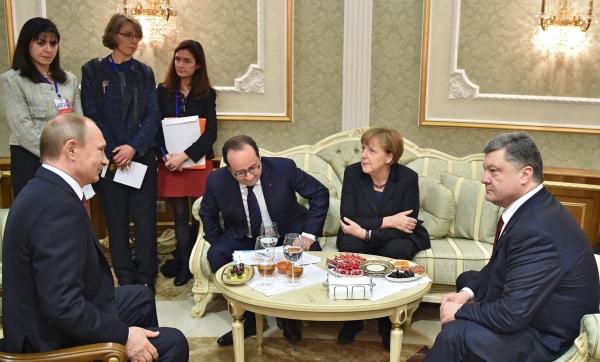 минские соглашения, нормандская четверка, путин, меркель, олланд, порошенко, франция, германия, украина, россия, переговоры