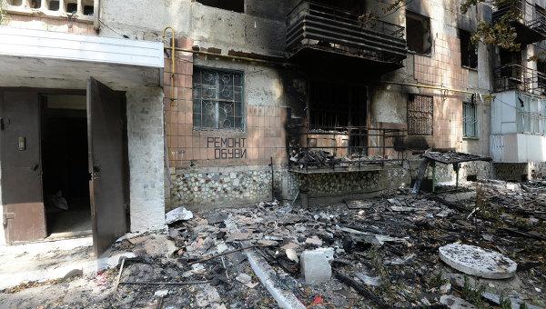 Сводка попаданий снарядов по Донецку за 30 сентября