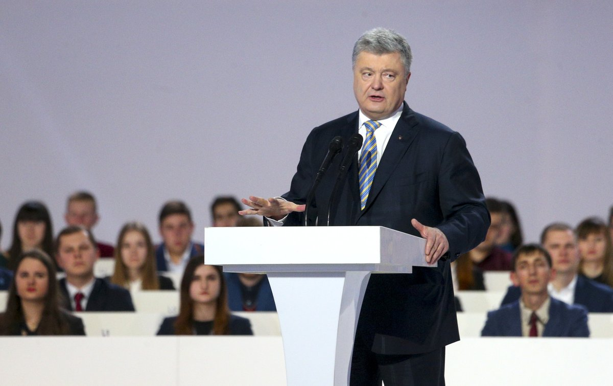 Порошенко презентует свою предвыборную программу: стали известны место, дата и время знакового события