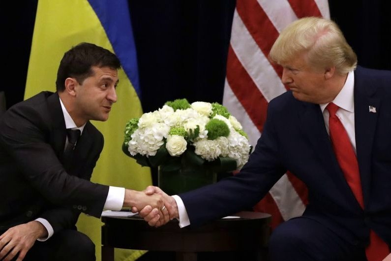 зеленский, трамп, сша, выборы, политика, украина, импичмент, скандал