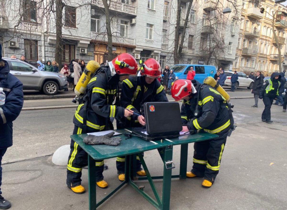 Киев, Министерство культуры, пожар