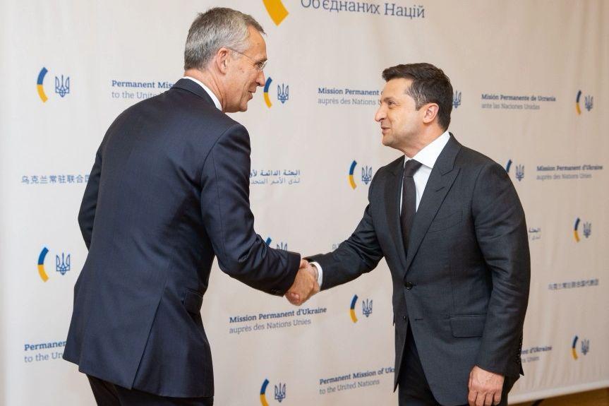Риски в Черноморье и план по членству: Зеленский в Нью-Йорке встретился с генсеком НАТО