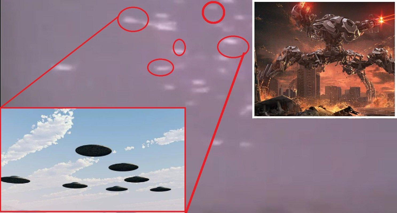 В Екатеринбурге гигантский НЛО распался на тысячи фрагментов: формируется флот для вторжения