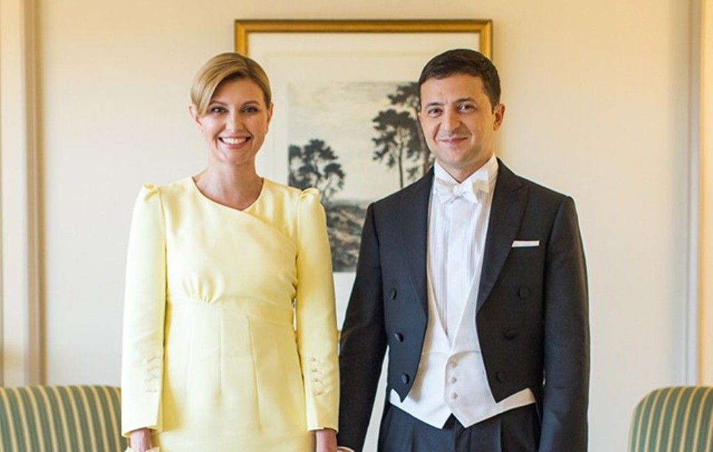 Украина, политика, япония, зеленский, визит, елена, жена, супруга, император