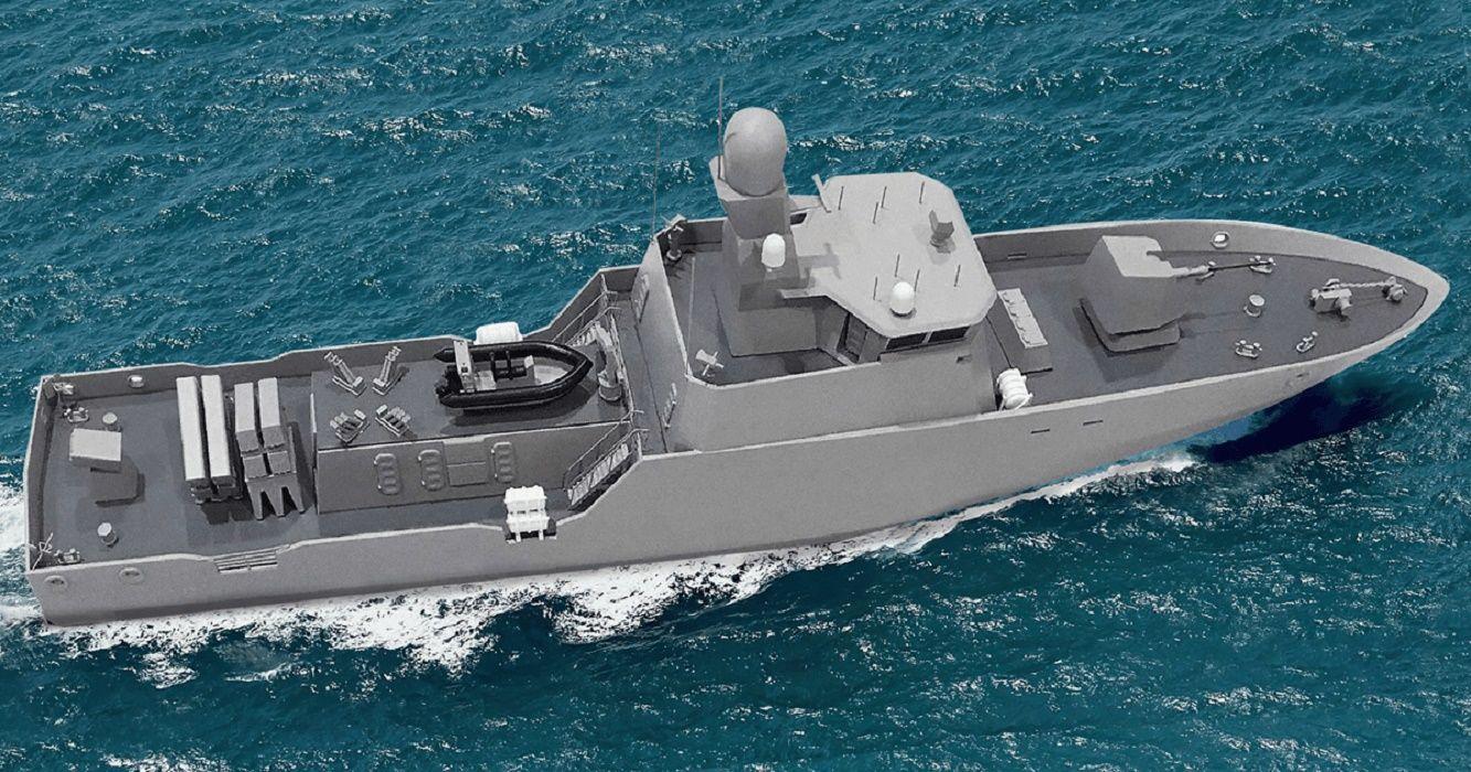 В Шотландии построят первые ракетные катера для ВМС Украины