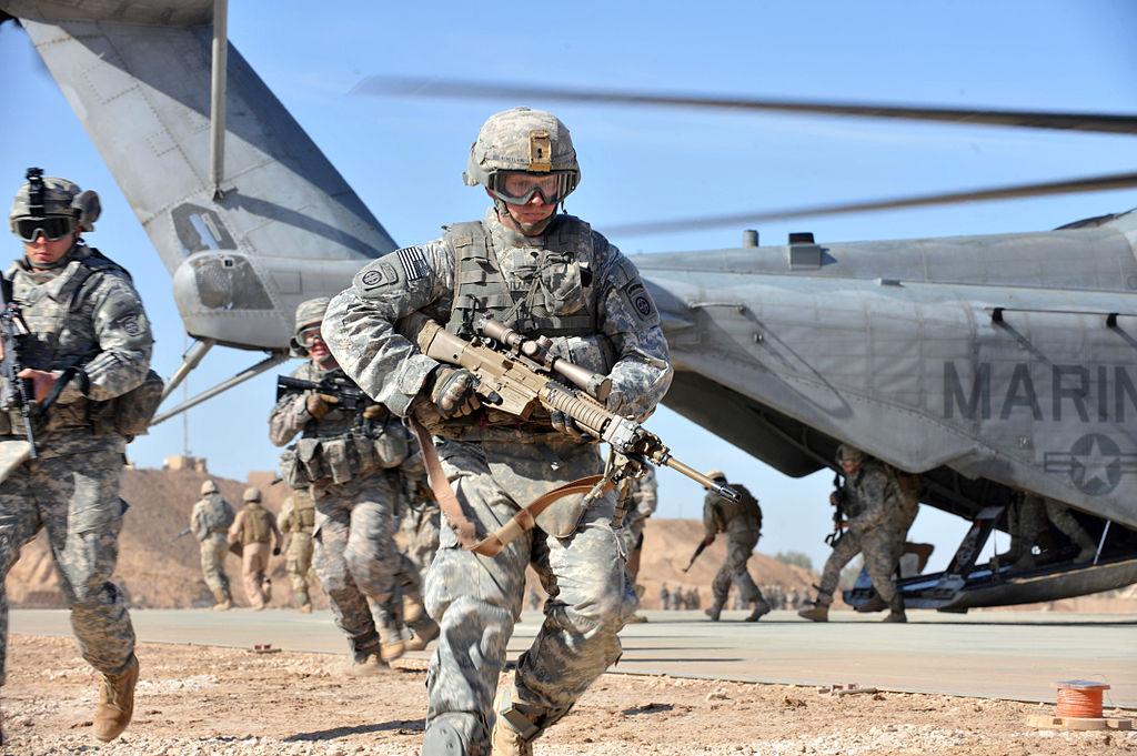 армия США, десантные войска, яворов, Screaming Eagles