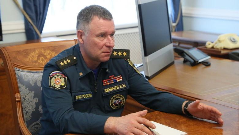 Гибель главы российского МЧС: источник РБК рассказал, что произошло с Зиничевым на учениях