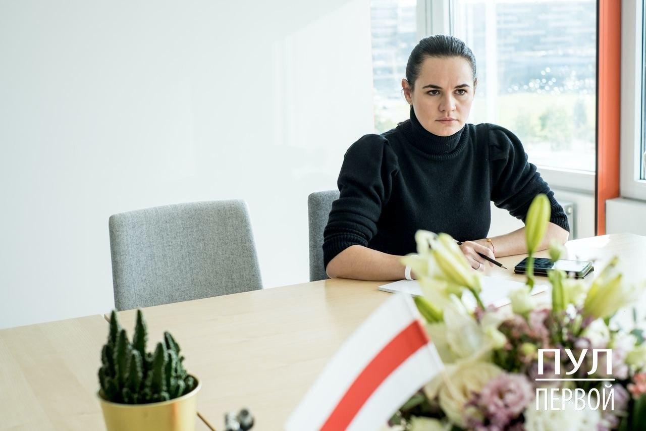 """Тихановская ответила на """"железный занавес"""" Лукашенко: """"Новый уровень отрыва от реальности"""""""
