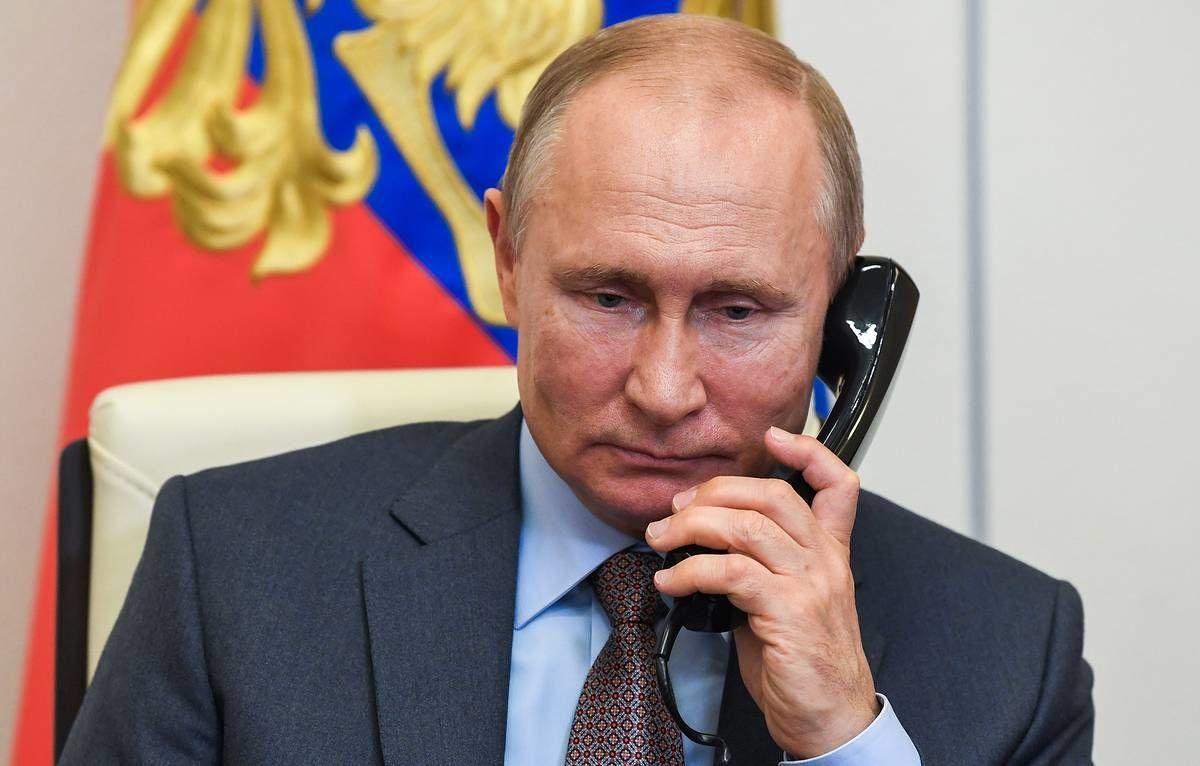 Путин снова пожаловался Меркель и Макрону на Украину и согласился на нормандский саммит