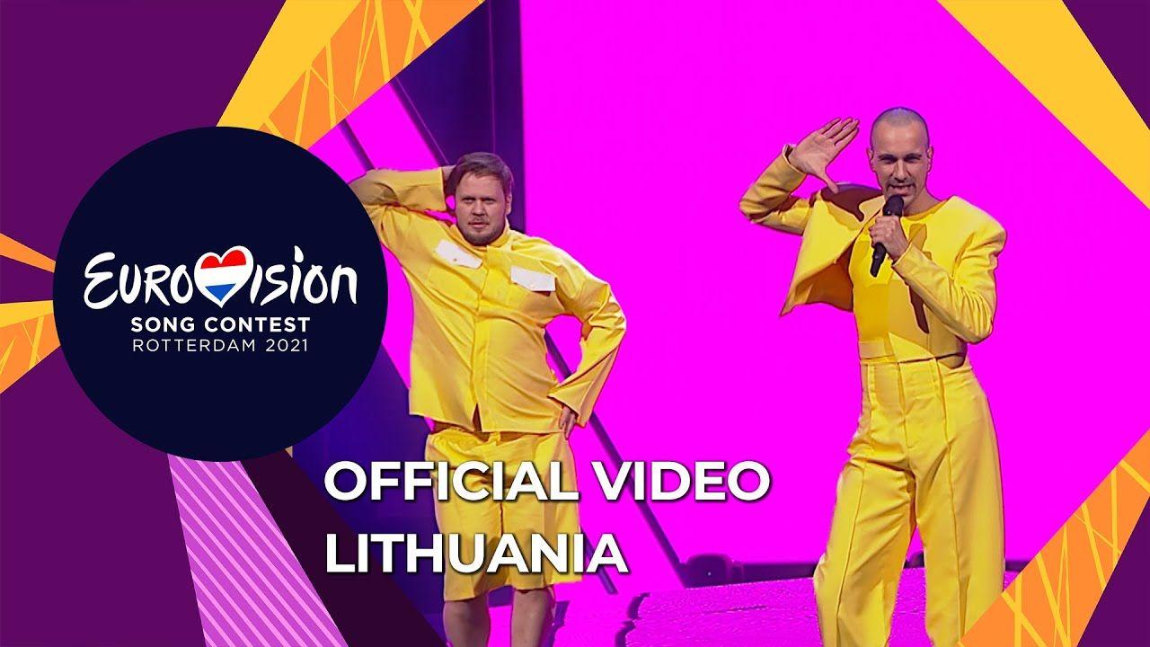 """""""Настроение на все 100"""", – The Roop из Литвы устроили зажигательные танцы на """"Евровидении – 2021"""""""