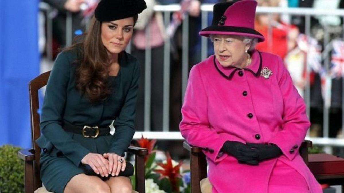 СМИ: королева Елизавета II выдвинула Кейт Миддлтон суровое требование, детали