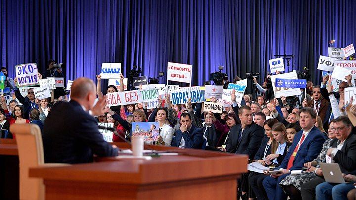 """Итоги пресс-конференции Путина глазами российских журналистов: """"Филигранно не ответил ни на один вопрос"""""""