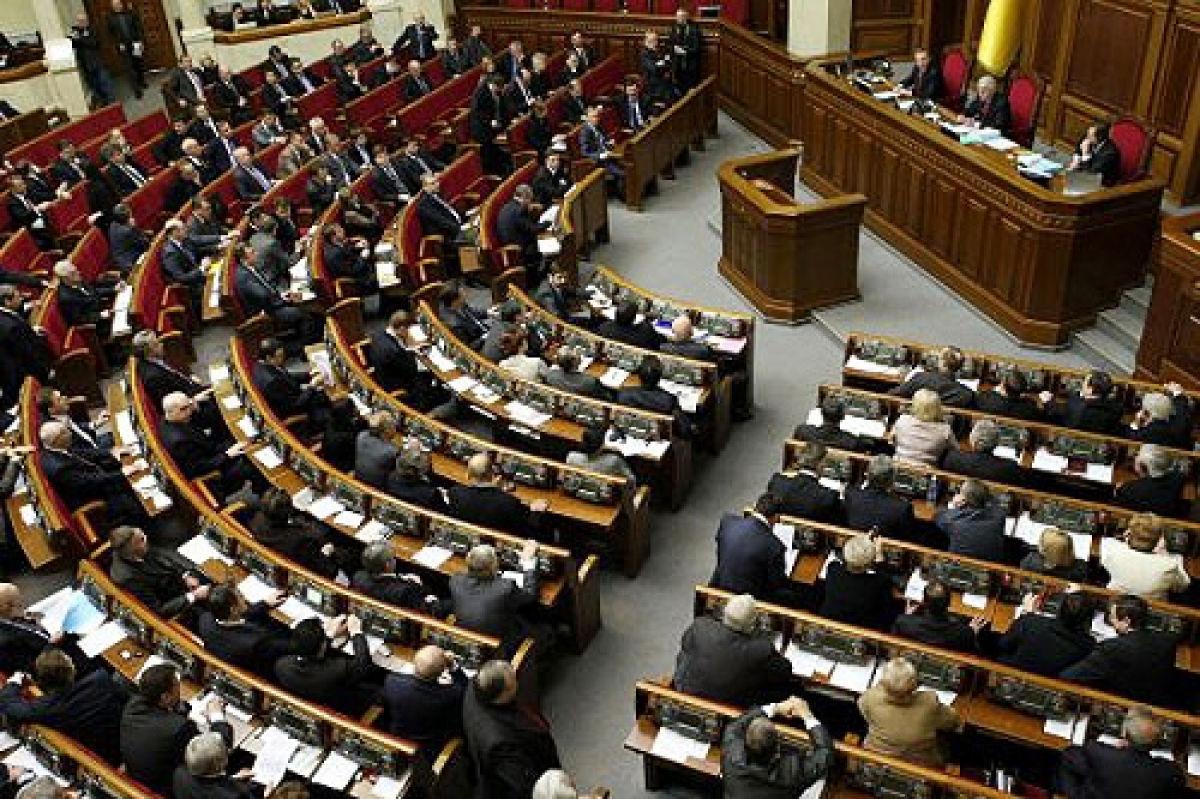 Опубликован новый рейтинг украинских партий: в Верховную Раду проходят только 4 политсилы