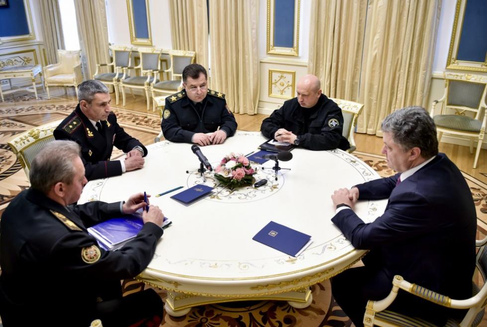 Украинские ВМС получили и. о. нового командующего