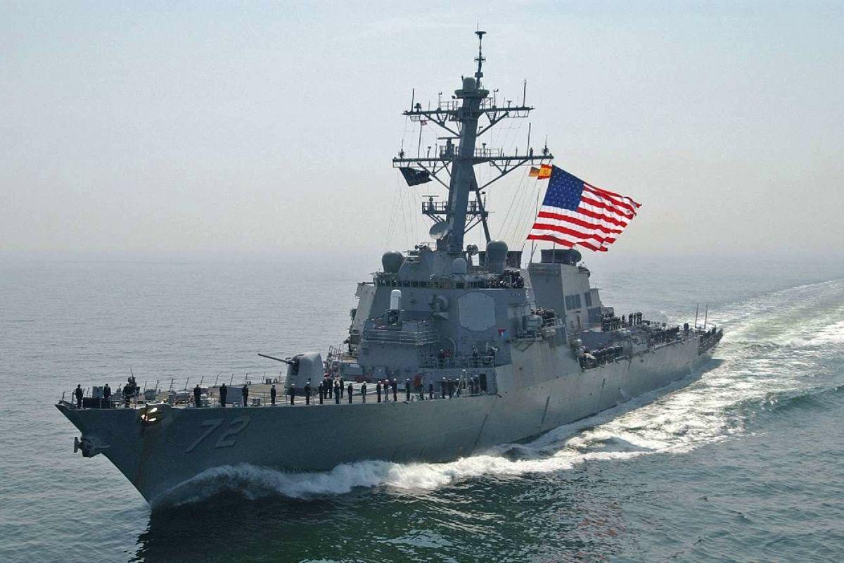 """Оснащенный """"Томагавками"""" эсминец ВМС США USS Donald Cook вошел в Черное море - четкий сигнал Кремлю"""