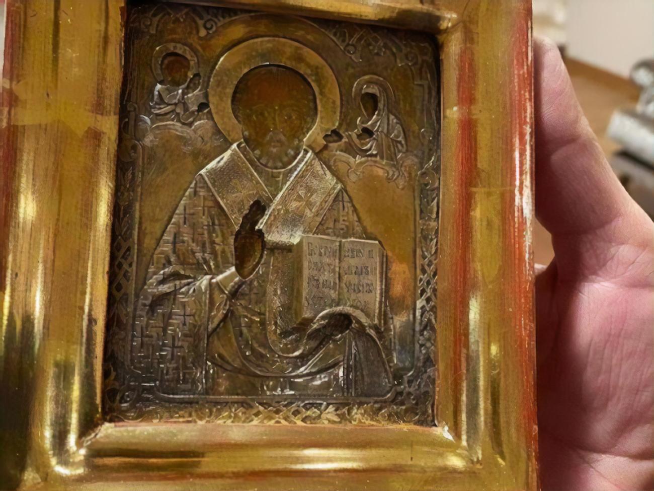 Похищенную в Луганске икону Босния не вернет Украине