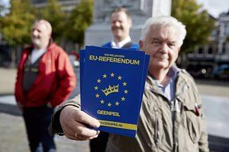 На референдуме в Нидерландах отмечается очень низкая явка - его могут признать недействительным