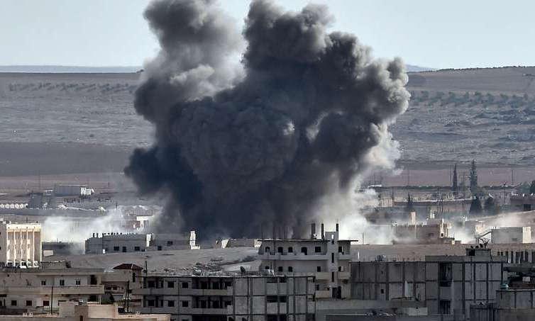 В сирийском городе, возле которого сбили российский Су-25, применили химоружие - подробности и кадры