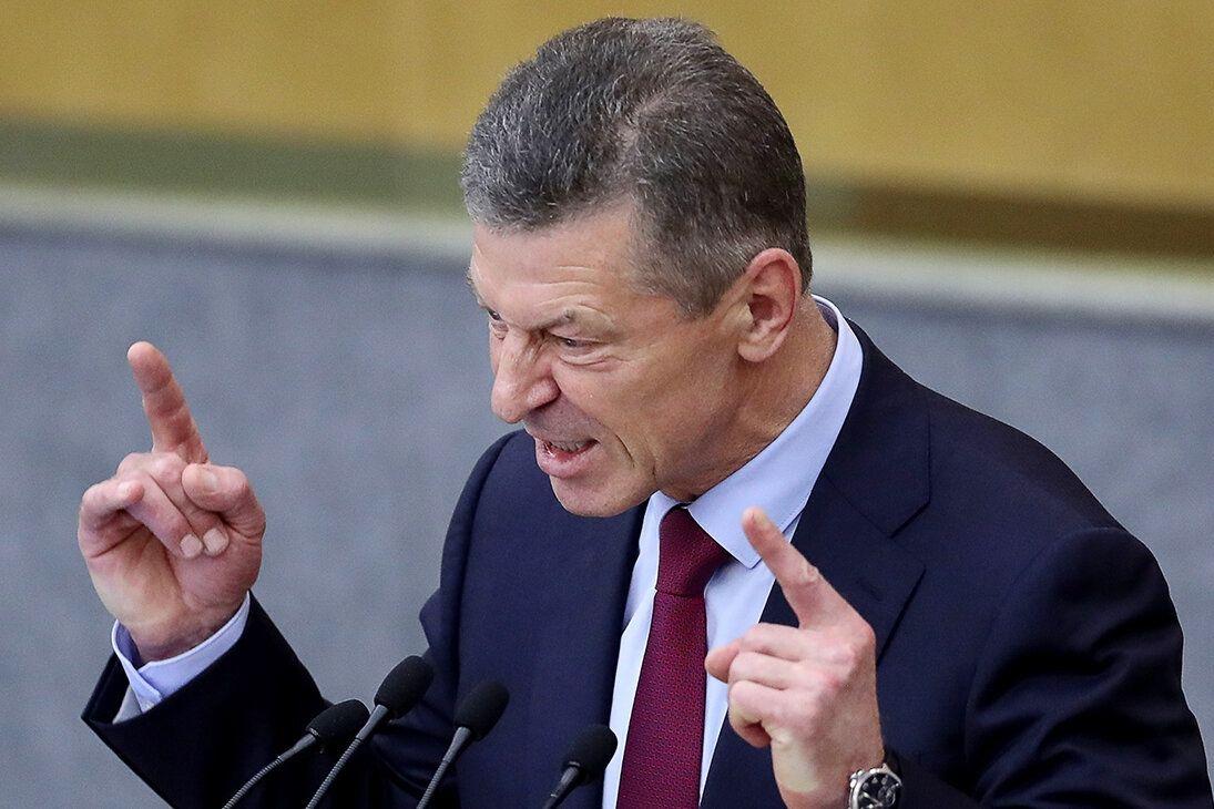 Козак зафиксировал дипломатическое поражение России – план по Донбассу провален