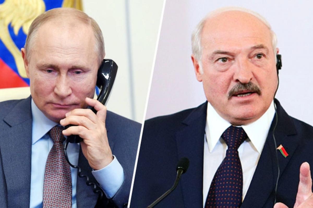 Путин созвонился с Лукашенко за несколько часов до большого Марша и договорился о встрече