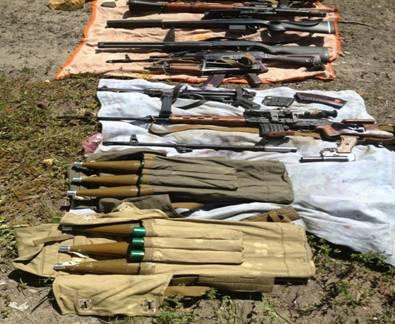 МВД: в Красном Лимане разоблачен хранивший склад оружия пособник ополченцев