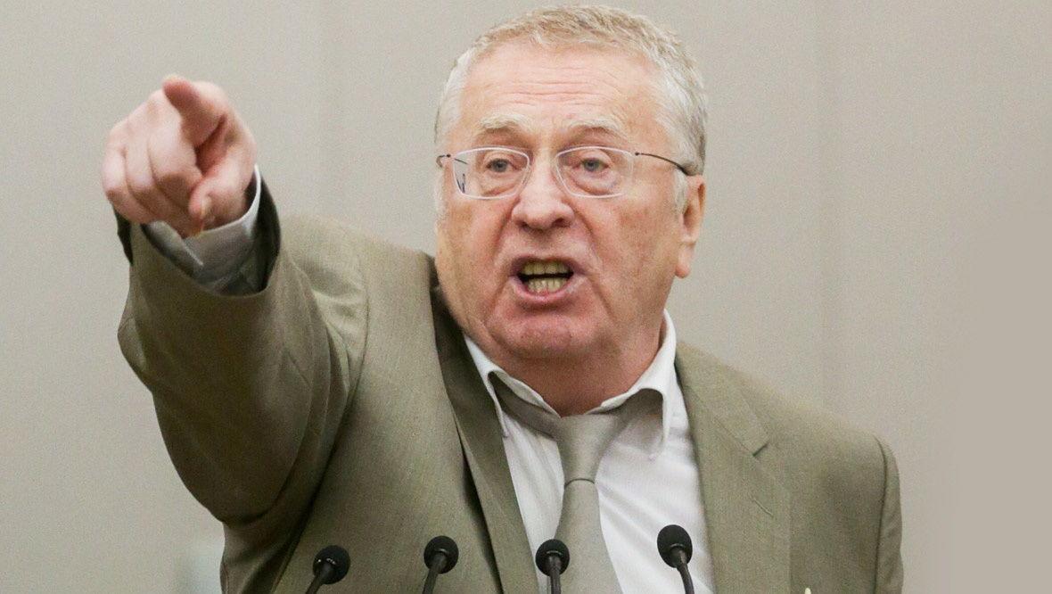 """Жириновский вновь отказал Украине в существовании: """"Их нет, это все Россия!"""""""