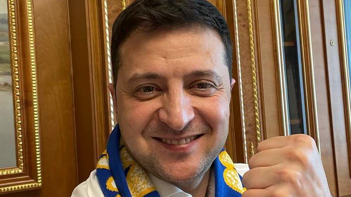 Зеленский запустил флешмоб перед матчем Украина – Швеция
