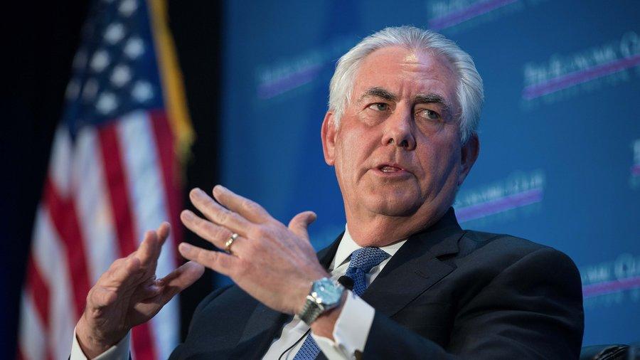 США оказывают абсолютную поддержку Украине по вопросу Донбасса, именно поэтому Вашингтон выделил 600 миллионов долларов для преодоления кризиса в регионе, - Тиллерсон