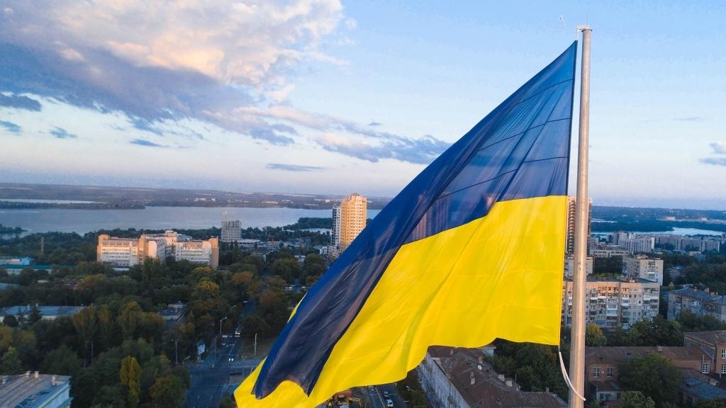Порошенко, Украина, общество, политика, Днепр, флаг