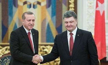 Порошенко и Эрдоган обсудили процесс присоединения Крыма к Украине