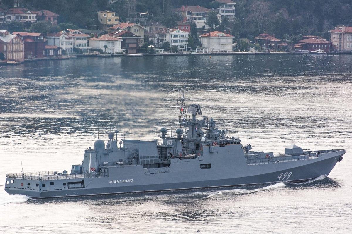 Россия готовится к войне против Турции: два фрегата ЧФ, вооруженные крылатыми ракетами, идут к Сирии