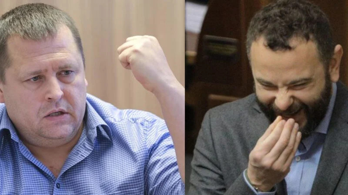"""""""Я тебе @@ало разобью, говорящая ты ж@п@!"""" - скандал между Филатовым и Дубинским набирает обороты"""