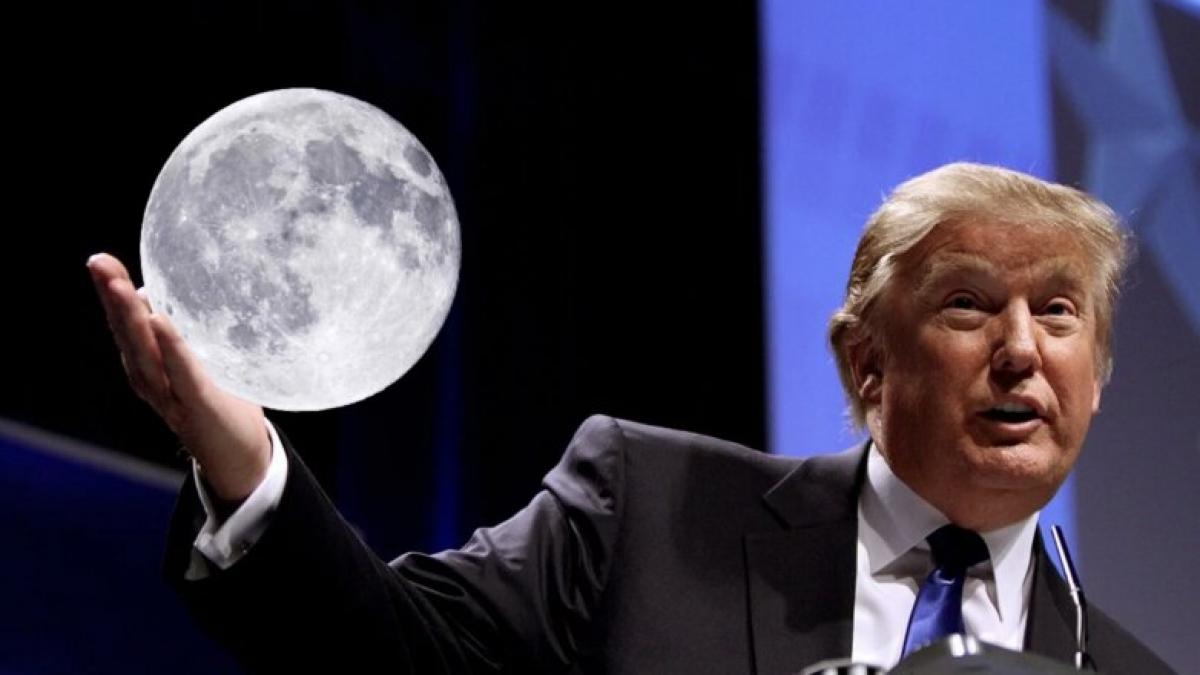 Трамп издал указ об освоении ресурсов Луны - в Кремле против такого решения