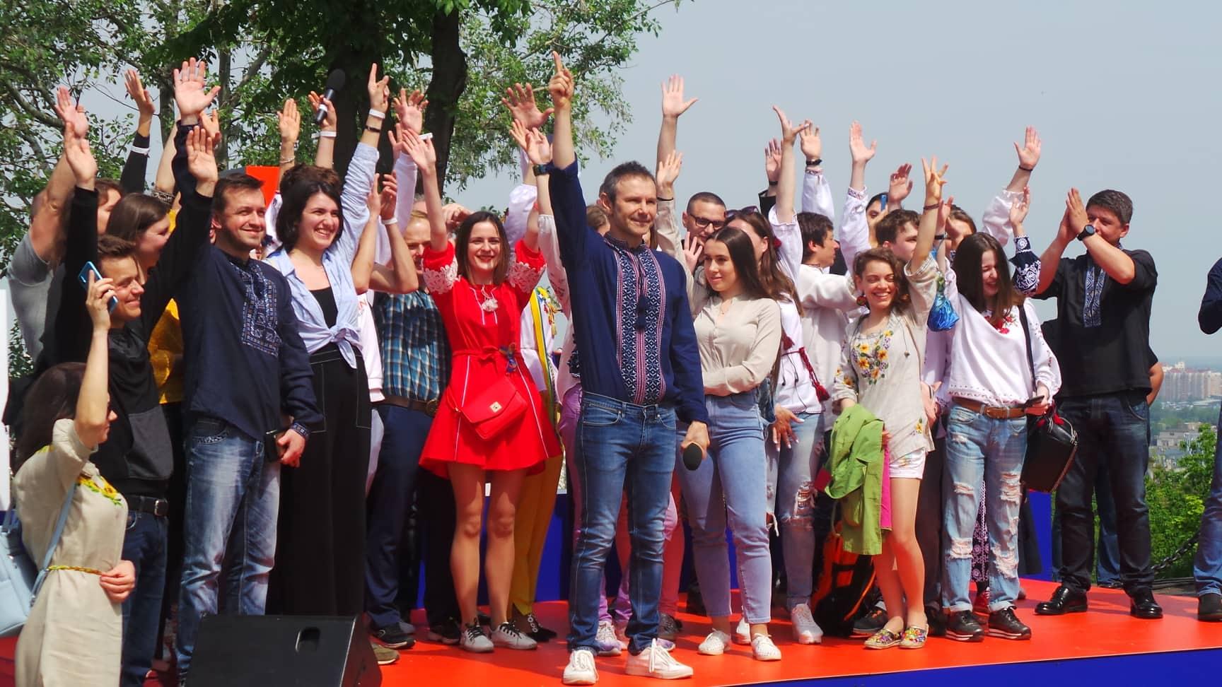 Украина, Партия, Голос, Система, Выборы, Садовый, Гриценко, Порошенко, Вакарчук.