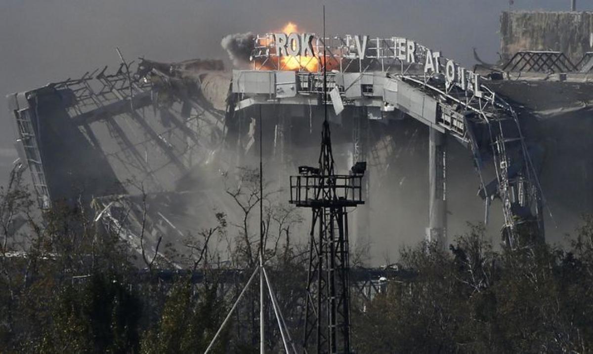 """26 мая 2014 года в Донецке началась война: как """"киборги"""" защищали ДАП"""