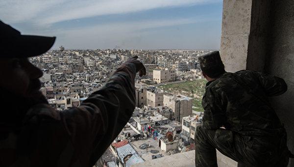Войска Асада отбили у боевиков ИГИЛ основную дорогу на Алеппо, захваченную ранее, - СМИ