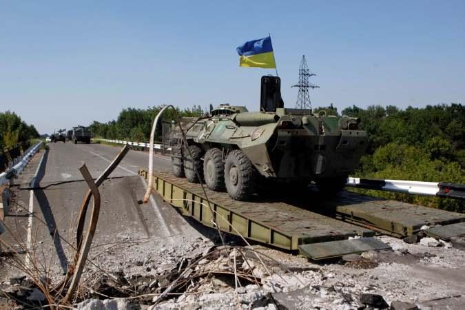 Ополченцы сообщают об отступлении украинских военных к Мариуполю