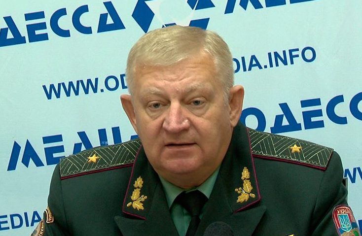 Генерал Розмазнин, Донбасс, линия разграничения