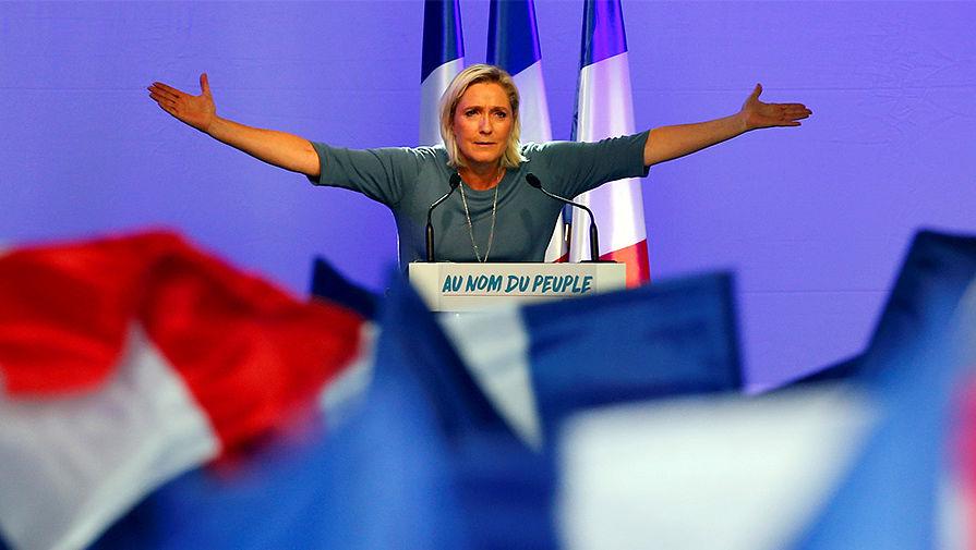 Марин Ле Пен, Франция, новости, Национальный фронт, Евросоюз, политика