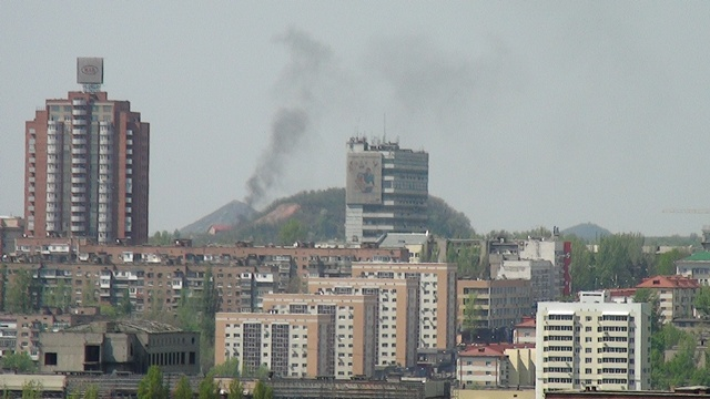 Донецкий горсовет: авария на газопроводе в Ленинском районе локализована