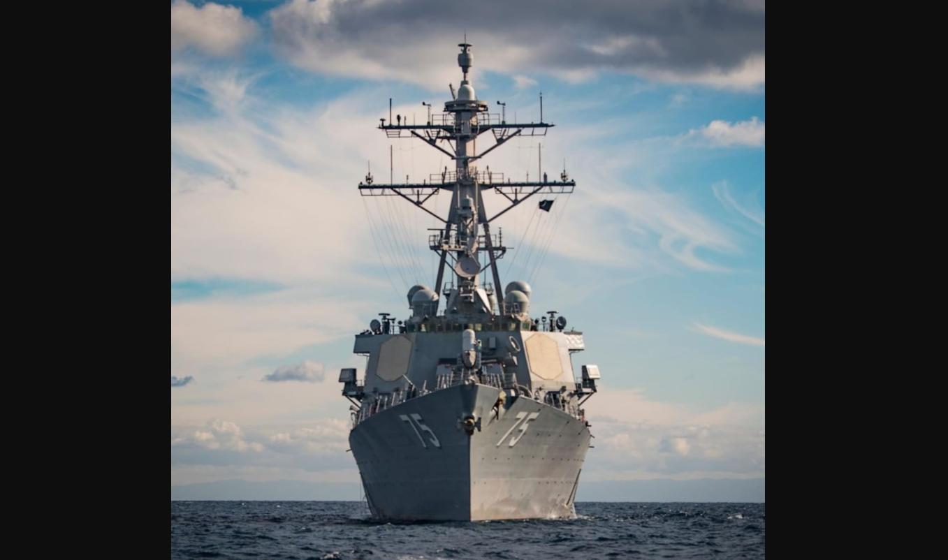 """Американский эсминец USS Donald Cook идет в Черное море: на борту крылатые ракеты """"Томагавк"""" с дальностью 2500 км"""