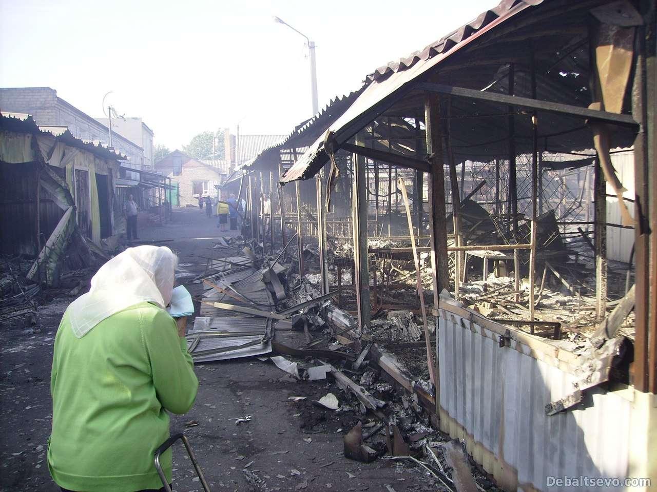 В Дебальцево продолжается обстрел: многие жители провели ночь в укрытиях
