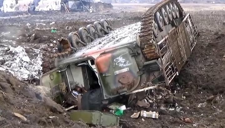 Тымчук: под Дебальцево уничтожены 80 боевиков, большая часть из которых россияне