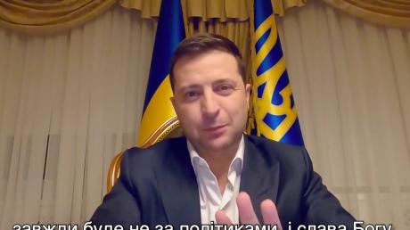 """Зеленский утром обратился к Украине и рассказал о создании """"действительно новой Украины"""""""