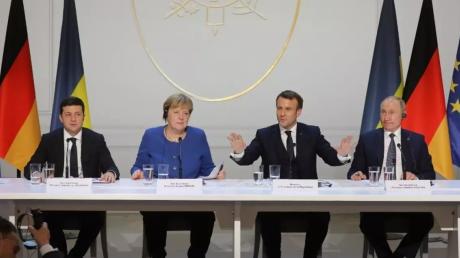 Песков, Путин, Россия, Саммит, Нормандская встреча, США.