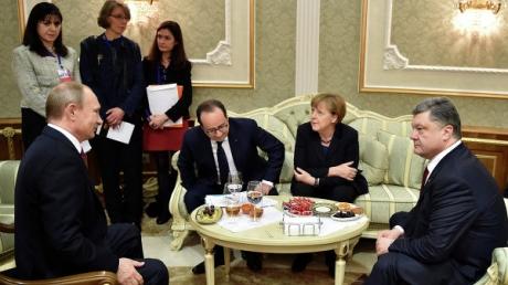 """""""Нормандская четверка"""": в Донбассе соблюдается режим прекращения огня"""